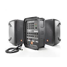 jbl powered speakers. jbl eon208p 300w powered pa system 8\ jbl speakers