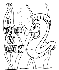 Small Picture Dental Coloring Pages