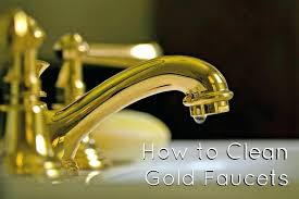 gold faucets bathroom how to clean maintaining plated fixtures remodeling simplified canada