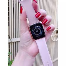 Apple Watch - Đồng Hồ Thông Minh T500 - Smart Watch Series 5 - Thay Dây -  Sạc Không Dây - Đo Nhịp Tim - Huyết Áp - Hỗ Trợ Đặt Theo