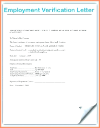 Employment Verification Letter Template Word Employer Verification Letter Template
