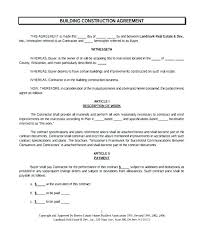Sample Construction Contract Simple Construction Contract Simple Construction Contract Template