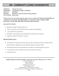 Brilliant Ideas Of Munity Mental Health Worker Cover Letter Resume