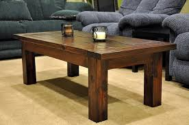 coffee table woodworking plans