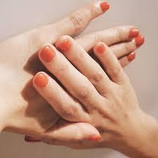 熟したみかんみたいに鮮やかなオレンジ単色 マット仕上げにすると