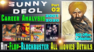 Tolly Lights Movie Sunny Deol Box Office Collection Analysis Hit And Flop Blockbuster All Movies List Part 02
