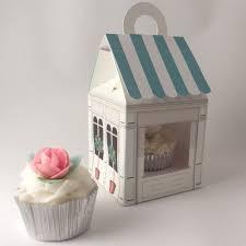 Cupcake Boxes Cupcake Boxes For 1 Cupcake Cupcake Shop Design