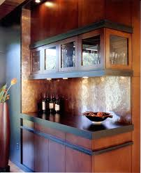 Copper Backsplash Kitchen Copper Backsplash Ideas Kitchen Contemporary With Concrete