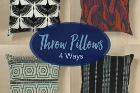 create a pillow. Simple Create Throw Pillows 4 Ways In Create A Pillow