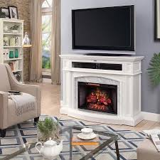 scott living 52 5 in w white infrared quartz electric fireplace