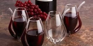 strange wine glasses. Wine Glasses With Glass Straw To Strange