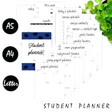 Student Grade Tracker Excel Assignment Planner Template Chichie Co