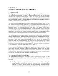 Evaluation Design And Methodology Chapter 7 Proposed Design Methodology Evaluation Of