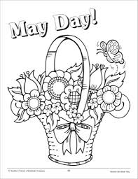 Small Picture 8 Images of Free Printable May Coloring Pages Month of May