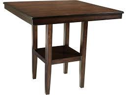 Contemporary Pub Table Set Vendor 855 Pendwood 5 Piece Contemporary Pub Height Table