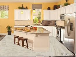 kitchens with dark cabinets and tile floors. Plain With Intended Kitchens With Dark Cabinets And Tile Floors A