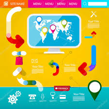 Funky Website Design Templates Funky Website Designs Web Layout Colorful Funky Web
