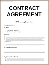 sample contract agreement 13 sample contract proposal letter