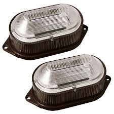 Stair Lights Lowes Portfolio Brown Solar Powered Led Deck And Stair Lights 2 Pack