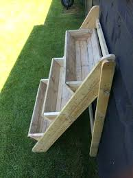 brilliant outdoor wooden plant stands wooden plant stand 3 tier trough garden wooden plant stands ideas