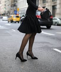 Light Pink Dress With Black Tights What To Do When Black Tights Dont Go With Your Outfit