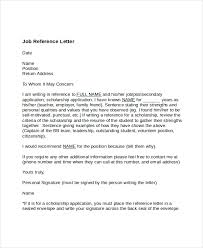 Recommendation Letter For Employment Fascinating Letter Of Reference For Job Heartimpulsarco