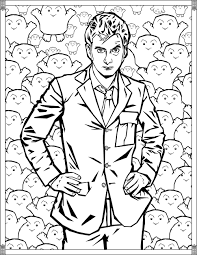 TV shows - Coloring pages for adults | JustColor