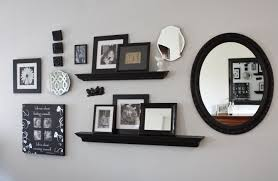 bedroom wall plaques. With Frames And Mirrors From Goodwill, It Was Easy To Fill A Large Empty Wall In My Bedroom. I Purchased The Frames, Small Plaques Bedroom M