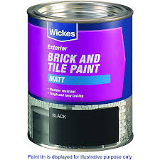 exterior terracotta tile paint. wickes exterior brick \u0026 tile paint - matt red 750ml terracotta c