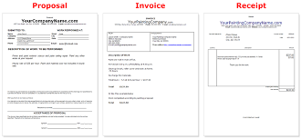 Painting-Company-Business-Documents-Common-Business-Invoice-Template