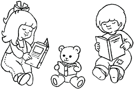drawing samanthadoodles reading book drawing reading coloring pages a reading a book coloring page summer of