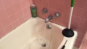 clogged bathroom sink baking soda vinegar unique how to unclog a