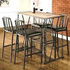round pub tables black pub table and chairs round pub table sets elegant industrial distressed finish chain link bistro bar pub table set pub black pub