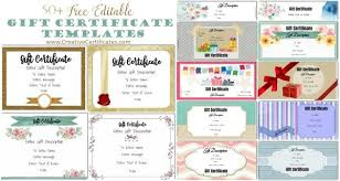 Free Customizable Gift Certificate Template Online Gift Certificate Template Condo Financials Com