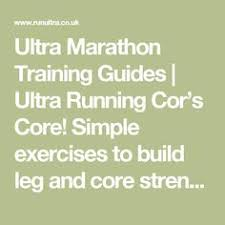 ultra marathon training guides ultra running cor s core simple exercises to build leg and