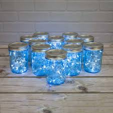 glass jar lighting. blue mason jar lights dazzle and enchant all of your events designs glass lighting