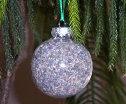 Lavender filled homemade Christmas ornament