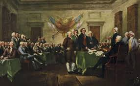 the signing of the declaration of independence painting