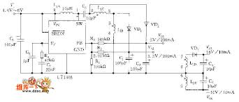 digital camera circuit diagram the wiring diagram circuits > multi channel power supply circuit diagram of digital circuit diagram