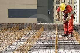 man installing rebar horizontal stock image image 6041271 rebar worker