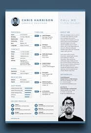 50 Free One Page Resume Template Culturatti