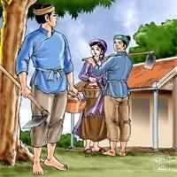 Image result for truyện trầu cau