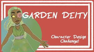 Character Design Prompt Generator Garden Deity Character Design Challenge Random Aesthetic Generator