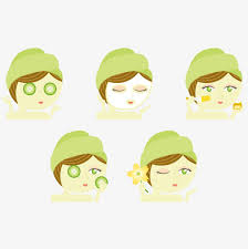 vector skin care steps cartoon hd clips vector skin care step png and