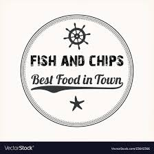 Fish And Chips Design Fish And Chips Vintage Menu Design Stamp