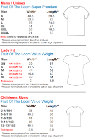 Fruit Of The Loom Lady Fit Size Chart Fruit Of The Loom Sweatshirt Sizes Arts Arts
