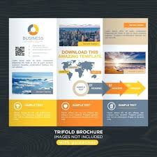 Brochure Trifold Template Free Tri Brochure Template Free Opusv Co