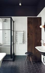 Black And White Bathroom Inspiration And Why Namoi Watts Is Modern Black And White Bathrooms
