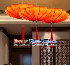 traditional chinese red palace lantern handmade hanging lanterns ancient fabrics lamp