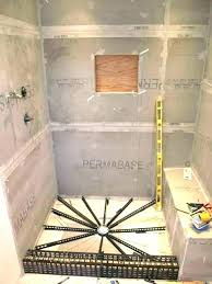 lovely build a shower pan build your own shower pan how to build a shower pan